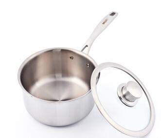 titanium milk pot