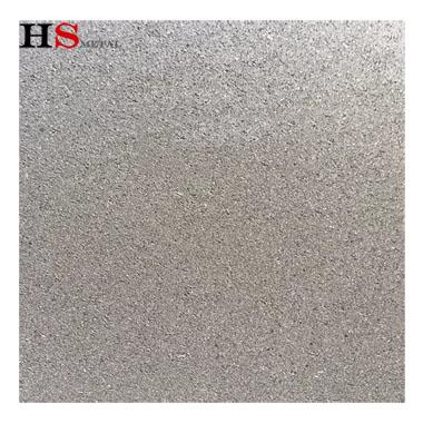 Length 100mm thickness 1mm Precision 50um titanium foam plate