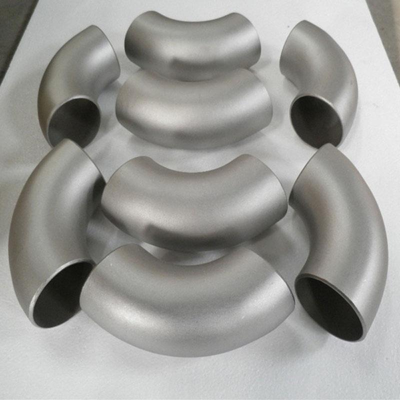 Titanium material ASTM B16.9 pipe fitting