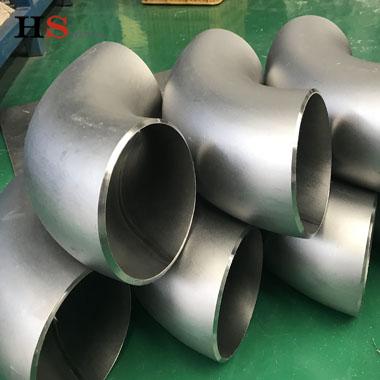 High quality titanium pipe elbow