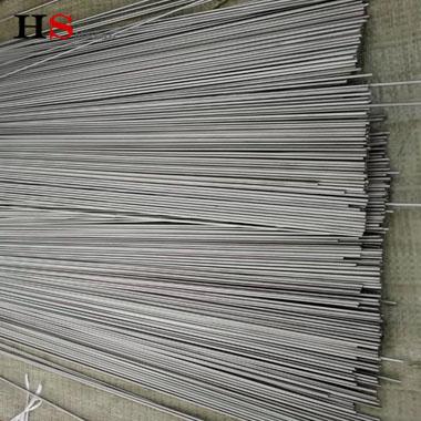 Pure titanium straight wire