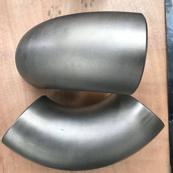 90 degree Titanium Elbow sample has been sent out from Highstar Metal supplier