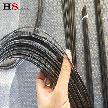 Titanium rope wire for industry