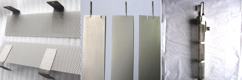 Platinum coating titanium anode for chlor-alkali Electroplating water treatment