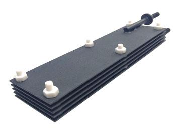 Item:Titanium anode rod with terminal Coating:anode Ru-Ir coating Drawing:as drawing Application: Electroplating Industry Electrodialysis