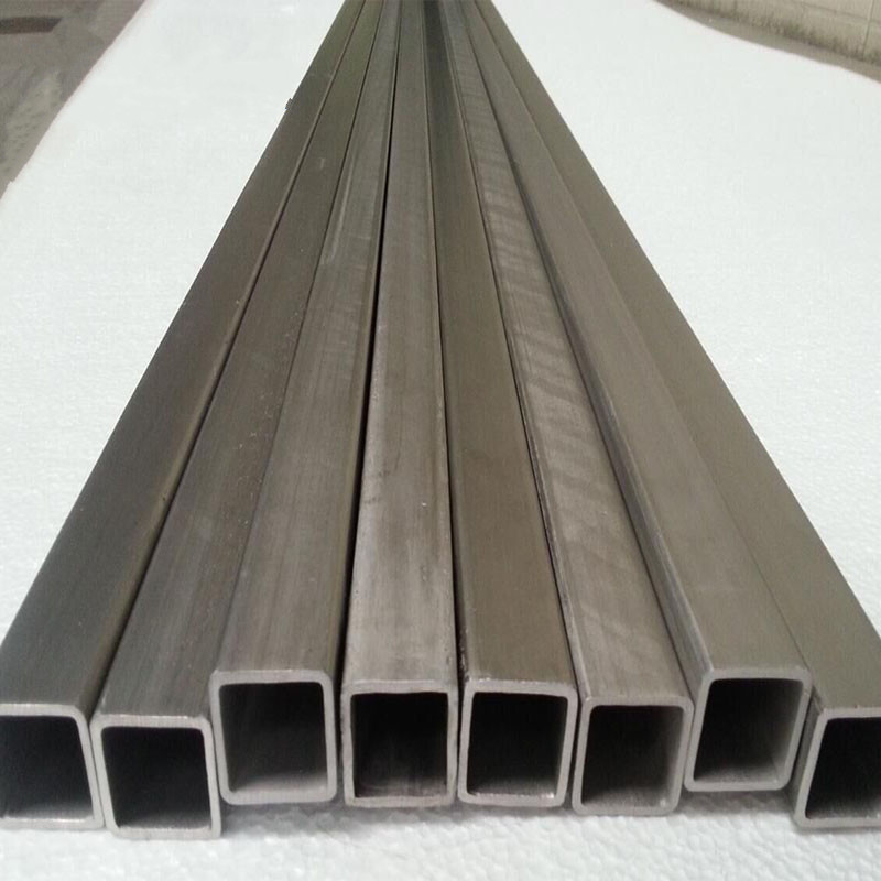 Gr2 ASTM B338 pure titanium square tube www.bjhighstar.com