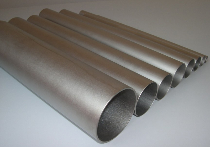 ASTM B338 ASTM B861gr1,gr2 thin thickness titanium tube for exhaust pipe www.bjhighstar.com