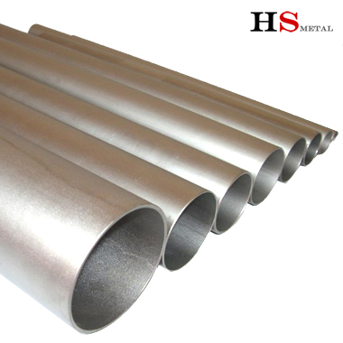 gr1,gr2 thin thickness titanium tube for exhaust pipe