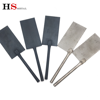 Titanium cathode anode mesh China Baoji manufacturing