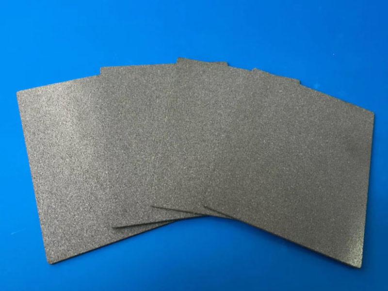 Precision 40um titanium foam plate