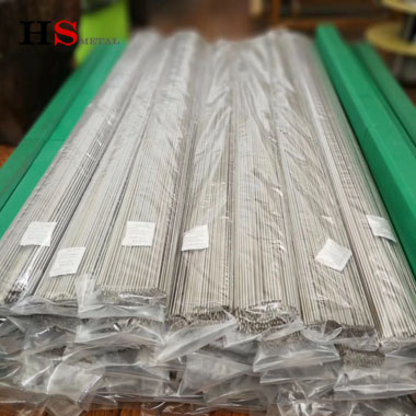 Pure titanium straight wire