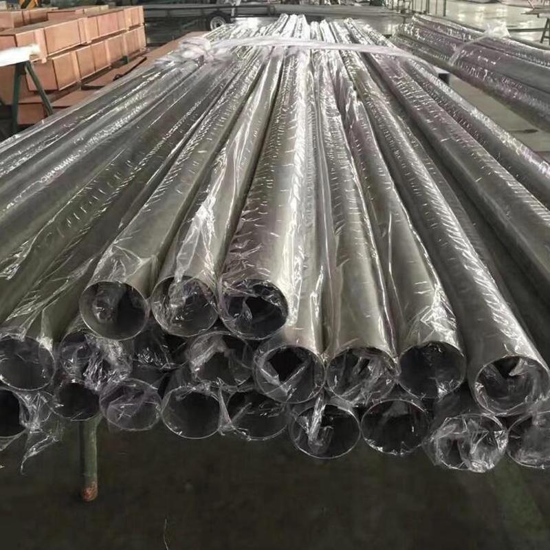 Gr1 gr2 pure titanium tube for Heat Exchanger www.bjhighstar.com