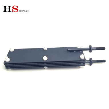 Ru Ir Coated Titanium Anode assembly for Sodium Hypochlorite Generator