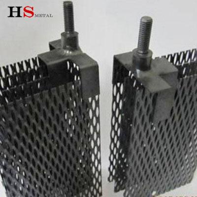 Titanium anode mesh Ru-Ir Ir-Ta coated Platinum coating Baoji Highstar titanium Metal
