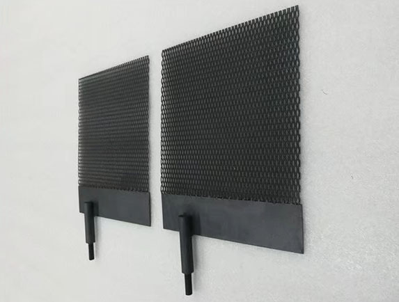 Titanium anode basket mmo coating China Baoji manufacturing