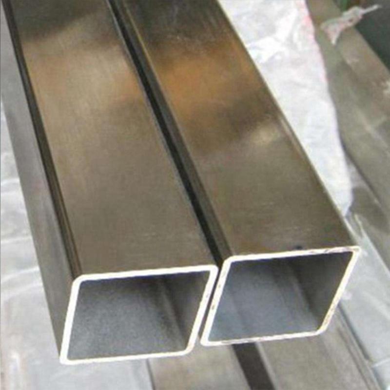 Gr5 titanium square tube www.bjhighstar.com