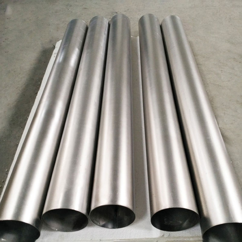 gr1,gr2 thin thickness titanium tube for exhaust pipe www.bjhighstar.com