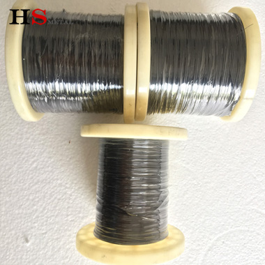 Black finished Nitinol wire for Fishing line