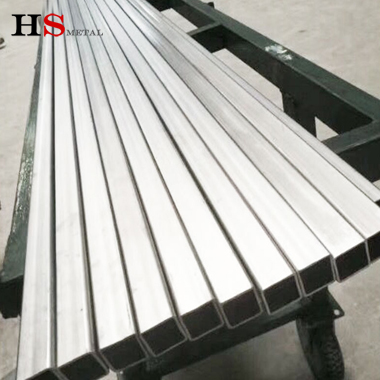 Gr2 ASTM B338 pure titanium square tube