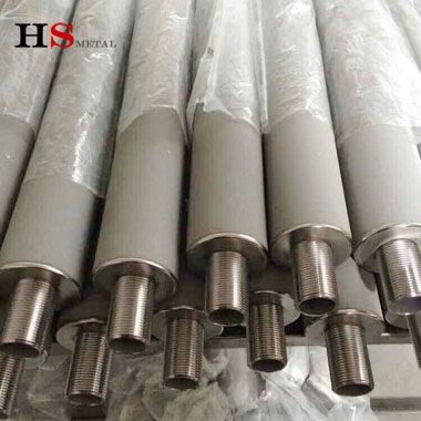 Titanium sintered filter element Baoji Highstar Titanium Metal