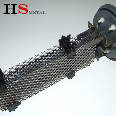 titanium anode MMO coating Ru-Ir baskets mesh