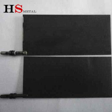 mmo titanium anode plate Baoji Highstar Titanium Metal