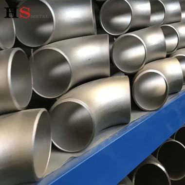 SCH40 ASTM B363 Titanium 90 Degree Elbow