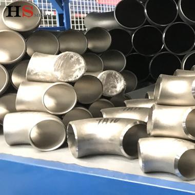 ASME16.9 45 90 180 degree titanium elbow