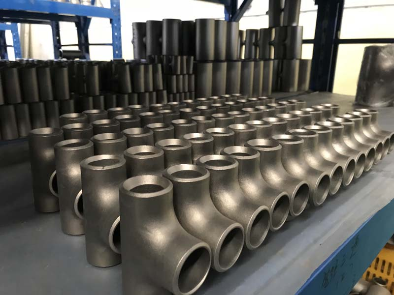 Titanium Alloy Equal Tee ASME B16.9 Pipe Fitting