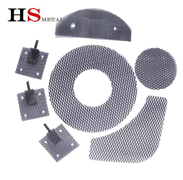 Mmo titanium anode mesh shape shows--Baoji Highstar Titanium Metal