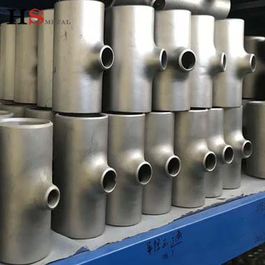 High quality gr1 gr2 gr7 titanium pipe fitting tee