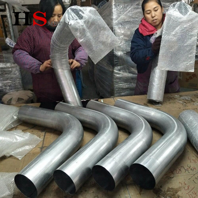 Titanium pipe fitting gr2 titanium bend tube in stock