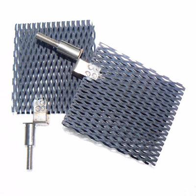 Anodo di titanio per la disinfezione di piscine Produttore di elettrodi in titanio Baoji
