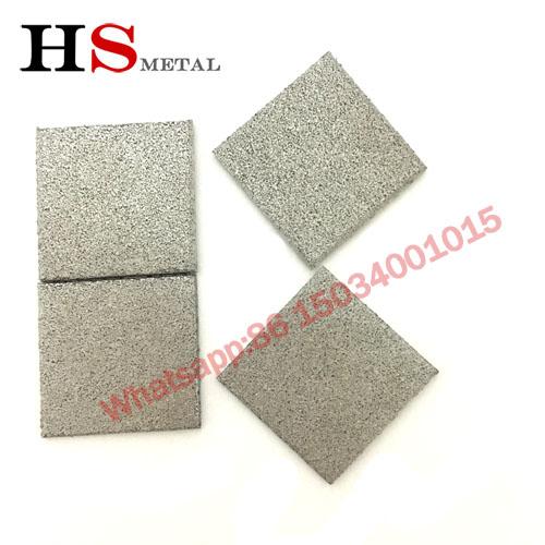 Titanium sintered plate sintered filter element Baoji factory www.bjhighstar.com (1)