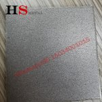 Titanium sintered plate | Porosity:20%-50%