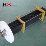 Titanium anode for hypochlorous acid generator