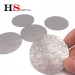 Titanium foams for air filter material