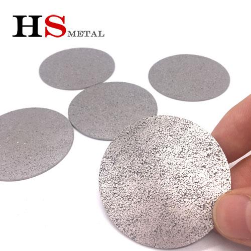 titanium foam polyester