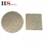 Titanium sintered metal sheet