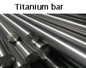 titanium bar parameter
