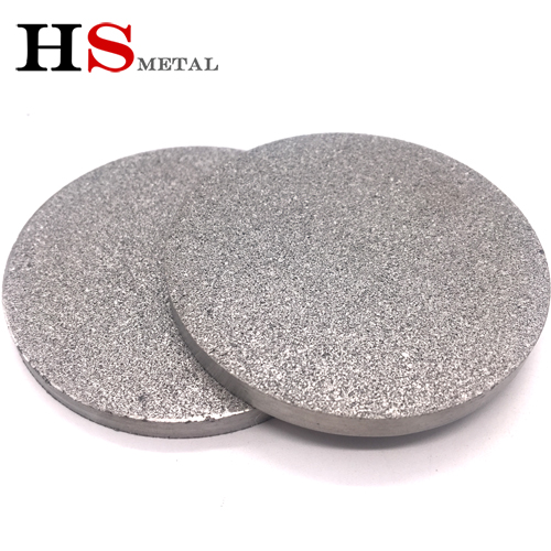 What are the performance characteristics of Titanium foam plate?